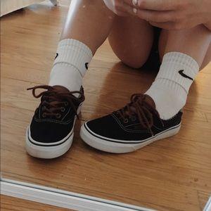 Black Vans size 6.5